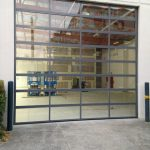 Aluminium-acrylic-commercial-sectional-door
