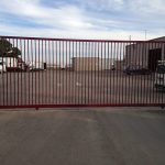 Commercial-sliding-gate-bar-grill