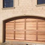 Curved-top-cedar-sectional-door-(2)