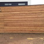 Cypress-Pine-Counterweight-Garage-Door