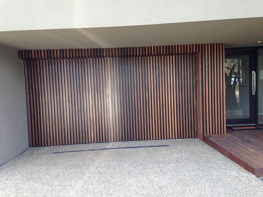 Ply-and-Cedar-Batten-Counterweight-Garage-Door – PDS Garage