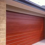 One Of Our Custom Garage Doors In Melbourne
